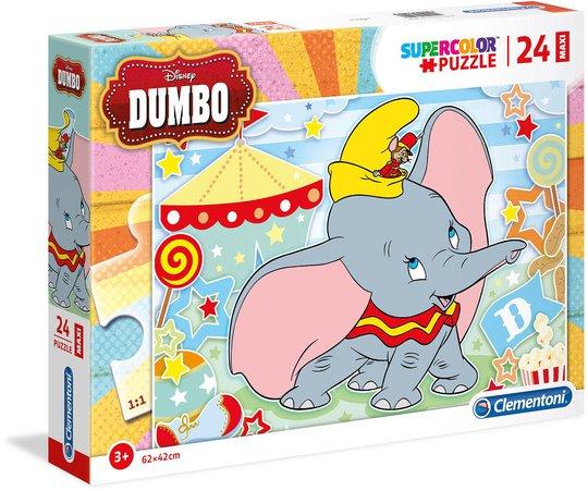 Disney Dumbo Puslespill 24 Brikker