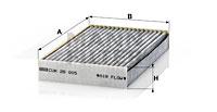 Raitisilmasuodatin MANN-FILTER CUK 26 005
