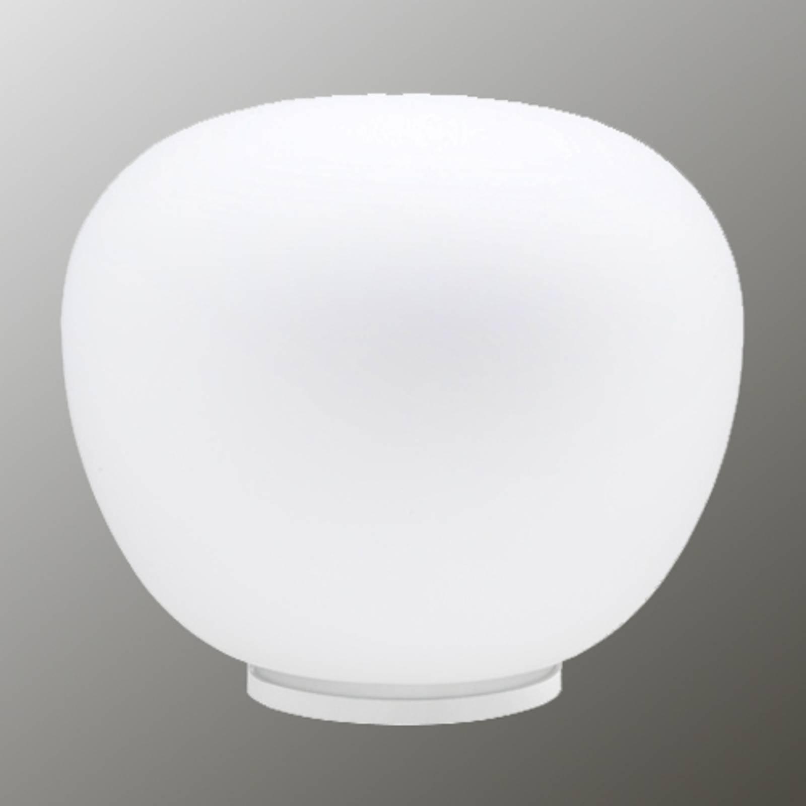 MOCHI bordlampe i soft hvitt 38 cm