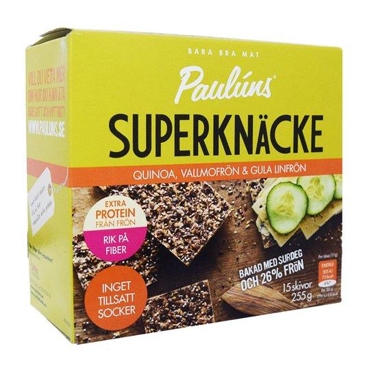 Knäckebröd Quinoa- & Vallmofrön 255g - 42% rabatt