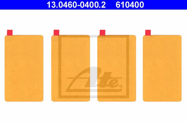 Tarvikesarja, jarrupala ATE 13.0460-0400.2