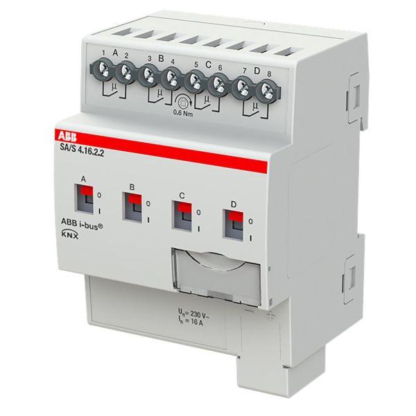 ABB 2CDG110262R0011 Tulo-/lähtöyksikkö KNX, 230 V, 16 A Kytkinliitäntöjen enimmäismäärä: 4