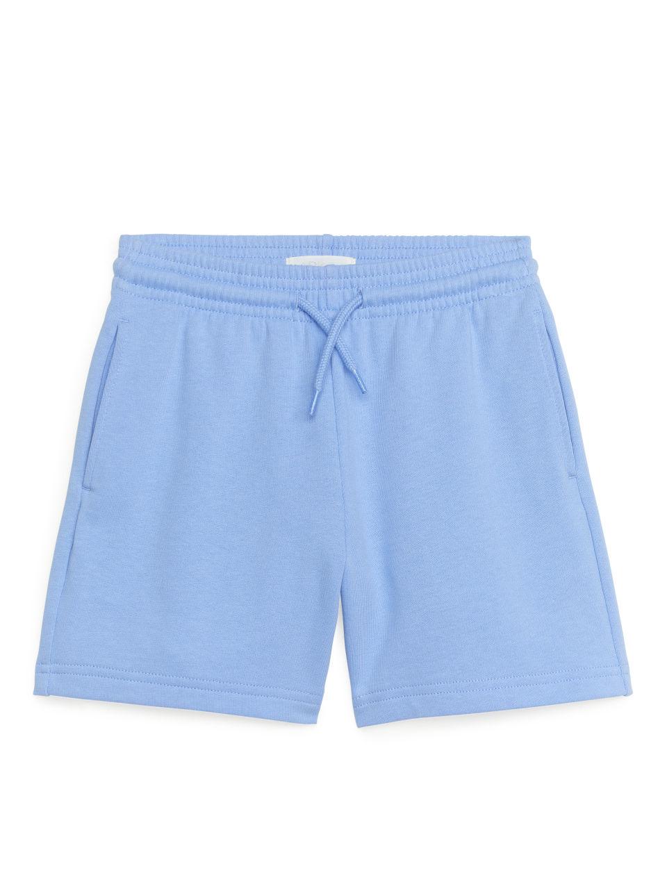 Sweatshirt Shorts - Blue