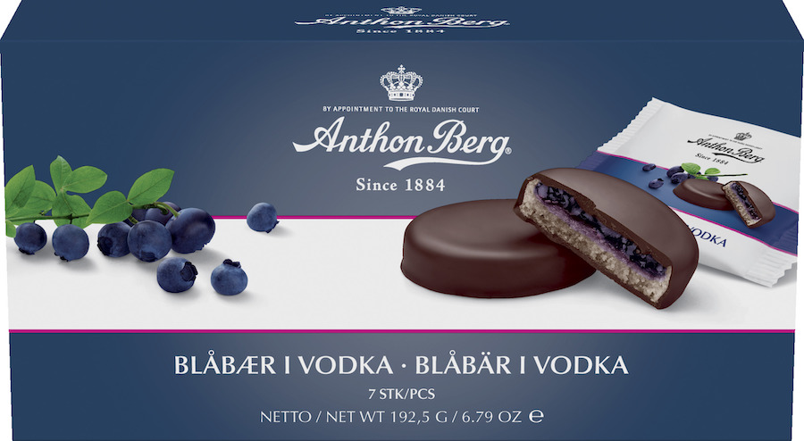 Anthon Berg Blåbär i Vodka 192g