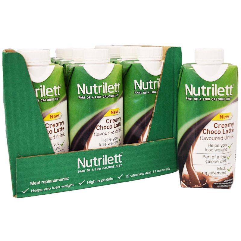 """Kokonainen laatikko: Nutrilett """"Choco Latte"""" - 38% alennus"""
