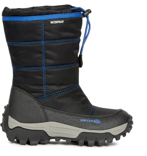 Geox Himalaya WPF Vintersko, Black/Blue 24