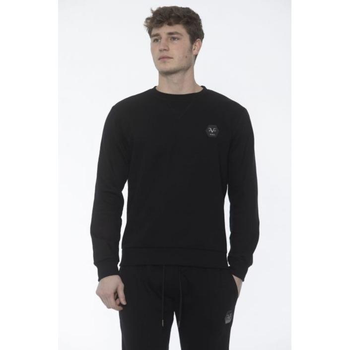 19v69 Italia Men's Sweatshirt Black 187656 - black M