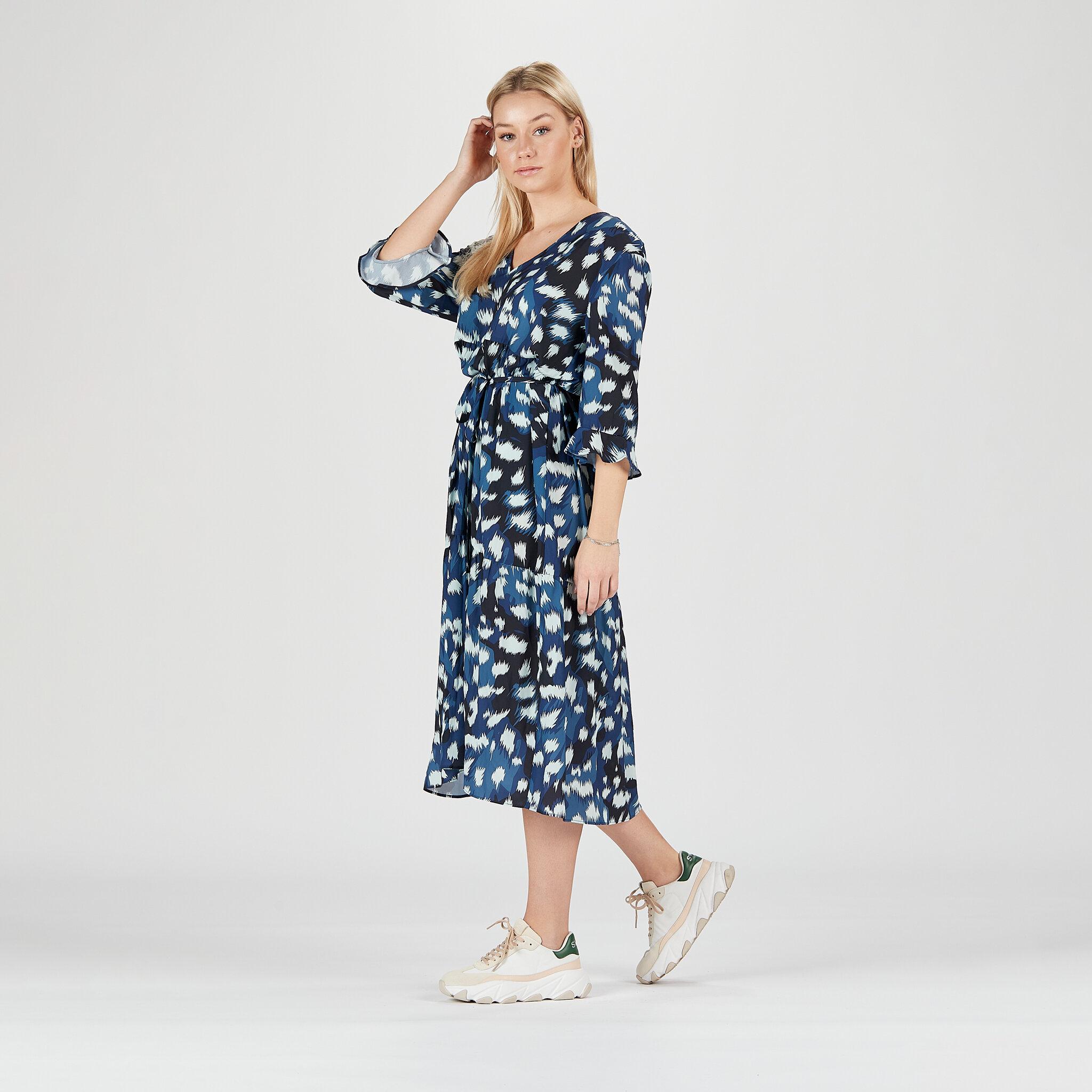 W. Casual Frill Dress