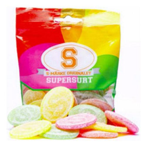 S-Märken Sura i Påse - 80 gram