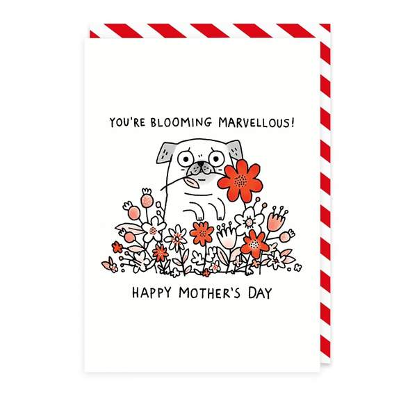 Blooming Marvellous Mum Mother's Day Card