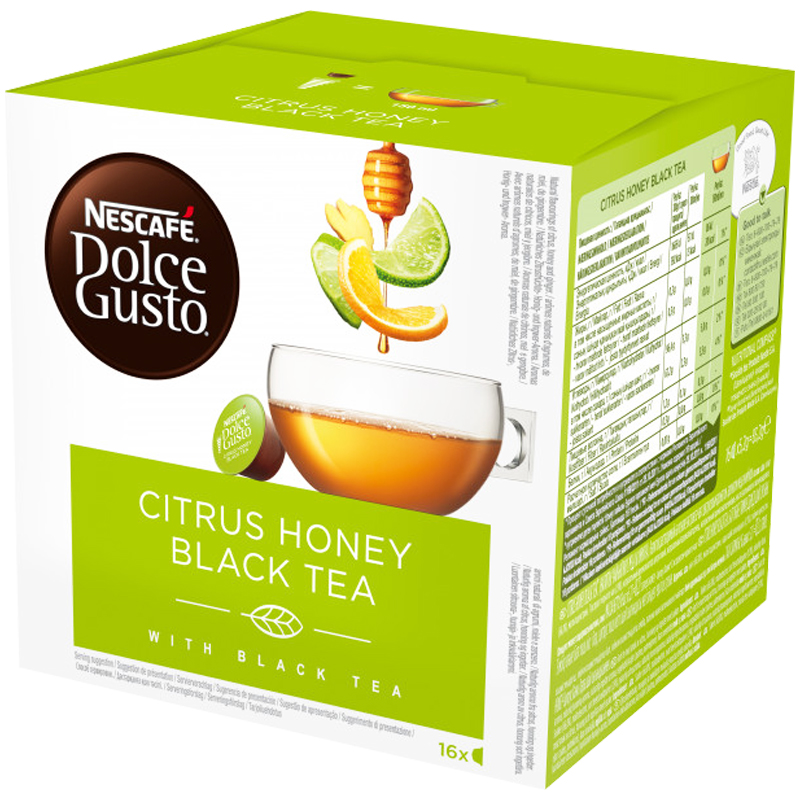 Tekapslar Citrus Honey Black Tea 16-pack - 34% rabatt