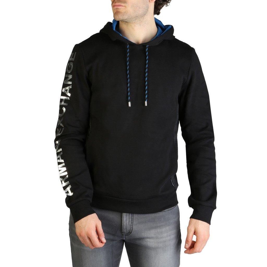Armani Exchange Men's Sweatshirt Various Colours 3ZZM79_ZJR8Z - black S