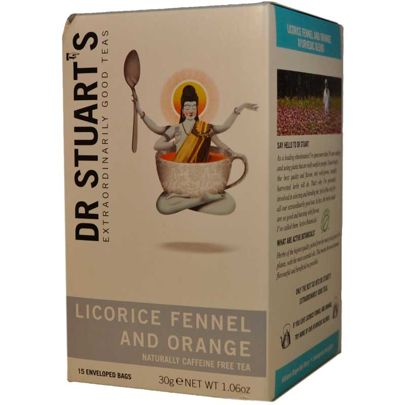Licorice, fennel & Orange te - 62% rabatt
