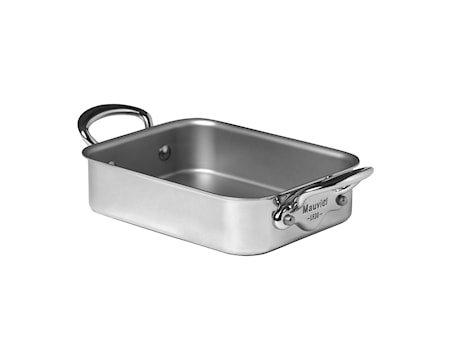 Cook Style Ovnspanne Mini 18x14cm blank stål