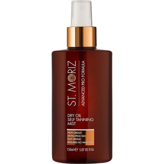 Advanced Dry Oil Self Tannning Mist, 150 ml St Moriz Advanced Pro Itseruskettavat