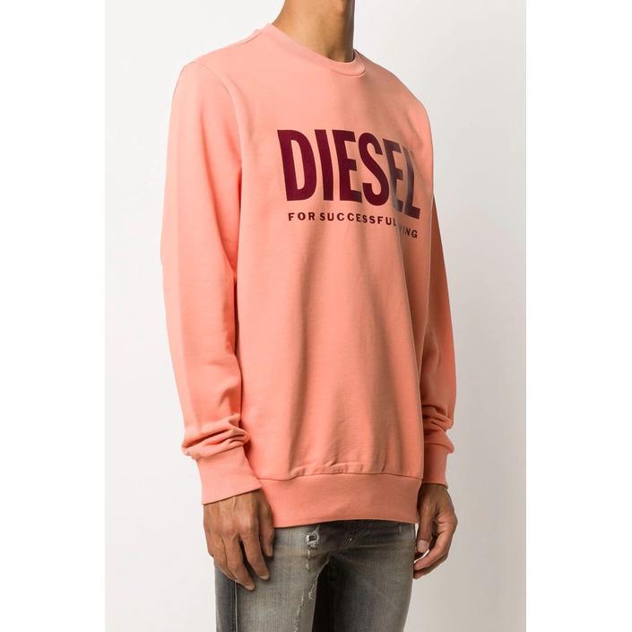 Diesel Men's Sweatshirt Various Colours 294057 - orange L