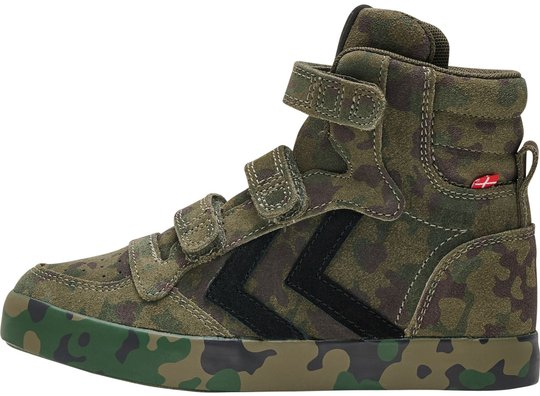 Hummel Stadil Camo Jr Sneaker, Camouflage, 27