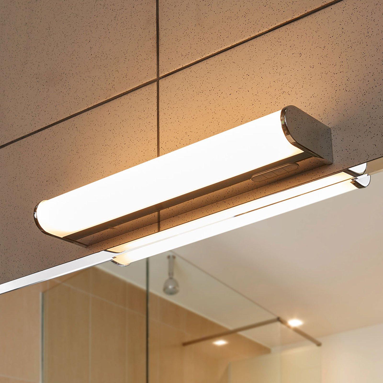 LED-vegglampe Jesko bad 3 000-6 500K, 33cm