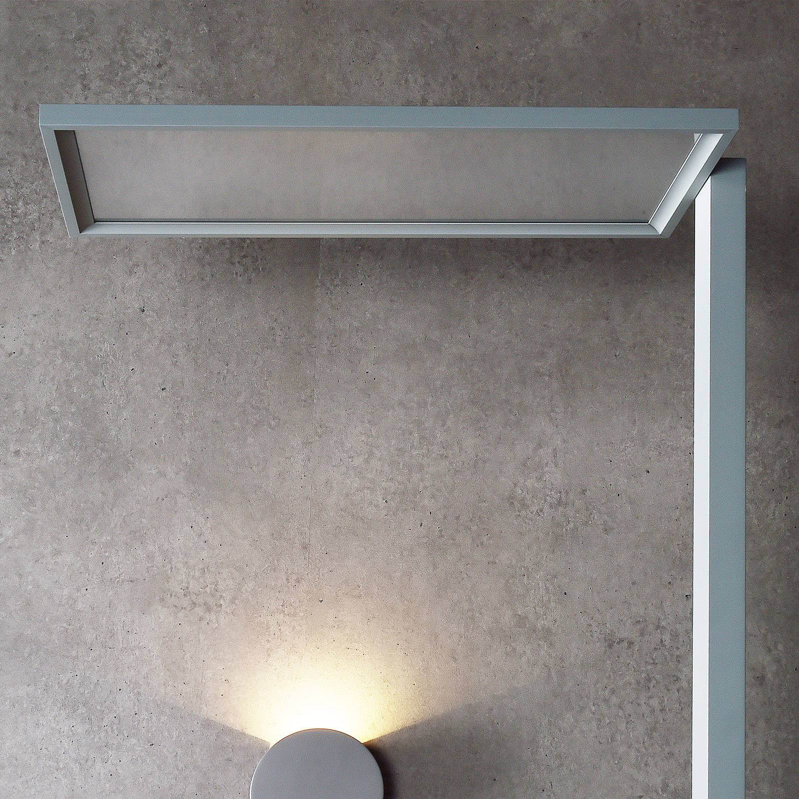 LED-gulvlampe Office One transparent touchdim