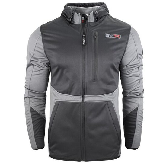 Bad Boy X-Train Bonded Jacket, Black/Grey