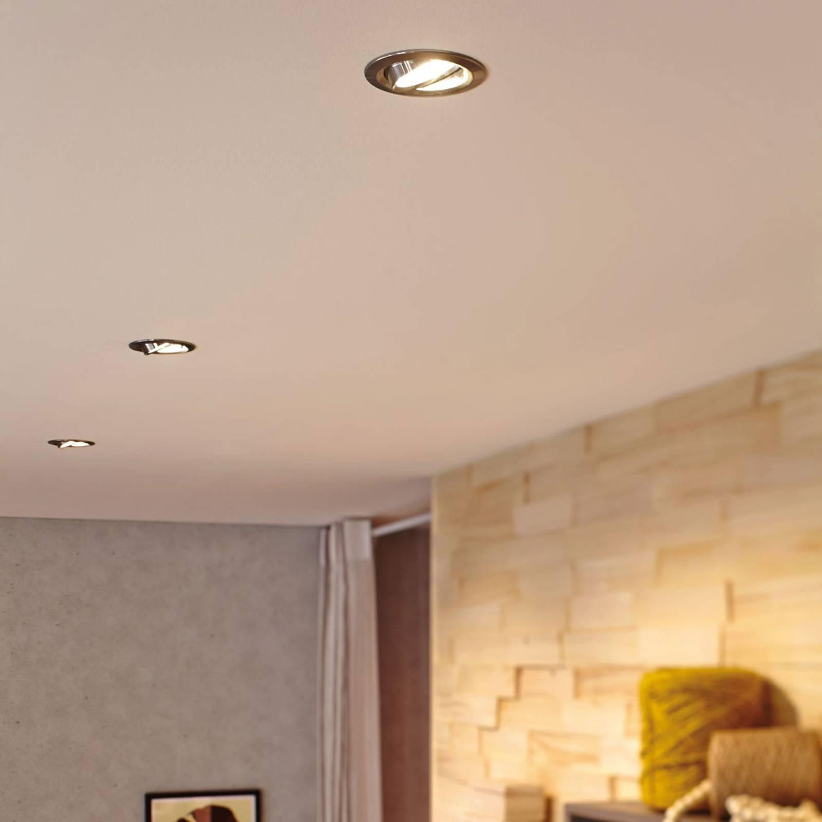 Paulmann-LED-heijastin GU10 4W 2700K alumiini 3kpl