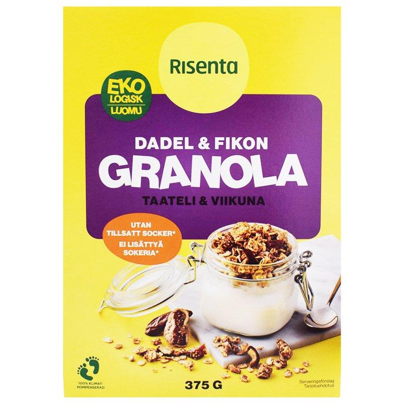 Granola Taateli & Viikuna - 28% alennus