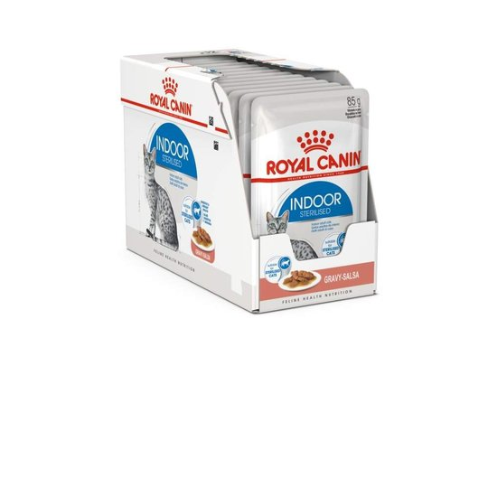 Royal Canin Indoor in Gravy Adult