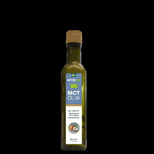 Ekologisk MCT Olja, 250 ml