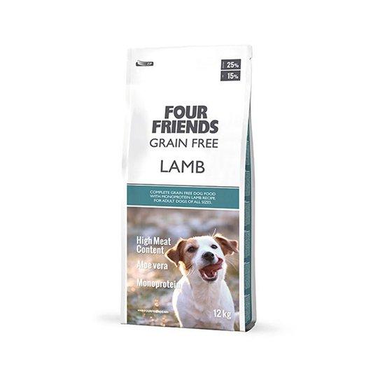 FourFriends Dog Grain Free Lamb (17 kg)