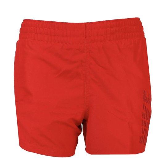 Nike Swim Logo Solid Badeshorts, Univeristy Red L