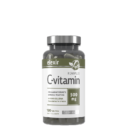 C-vitamin Komplex, 120 tablettia