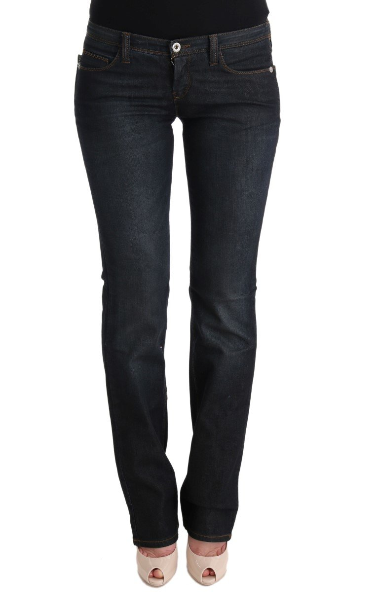 Costume National Women's Cotton Slim Flared Jeans Gray SIG30138 - W26