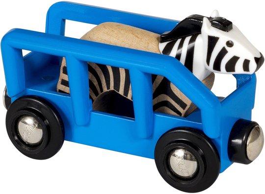 BRIO World 33967 Zebra og Vogn