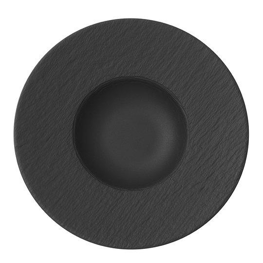 Villeroy & Boch - Manufacture Rock Pastatallrik 28 cm Svart