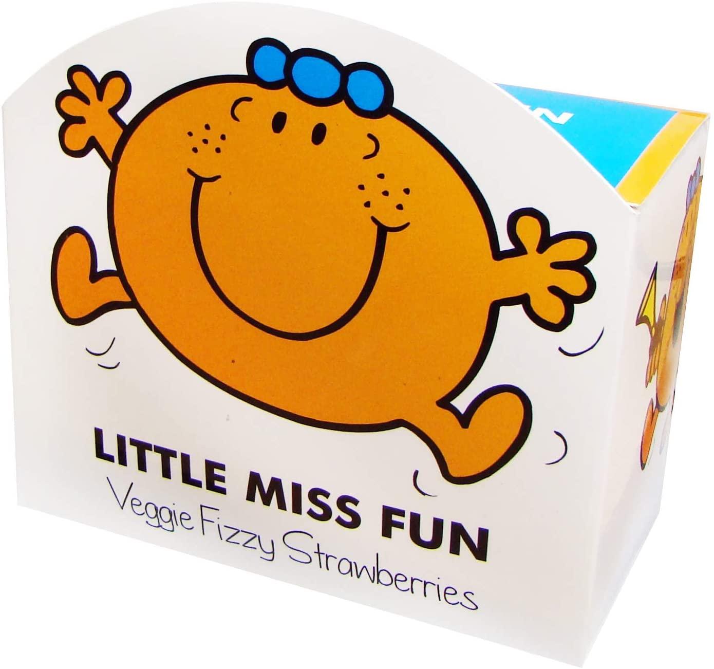 Little Miss Fun Veggie Fizzy Strawberries 140g