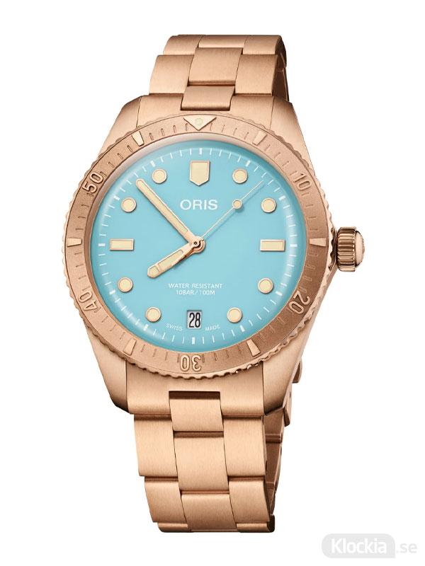 ORIS Divers Sixty-Five 38mm - Cotton Candy 733-7771-3155-07-8-19-15