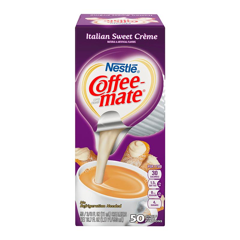 Coffee-Mate Liquid Creamer Singles - Italian Sweet Cream