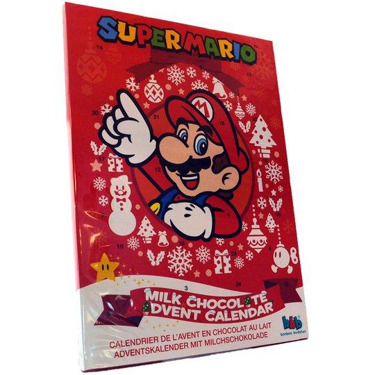 Adv. kalender Super Mario - 50% rabatt