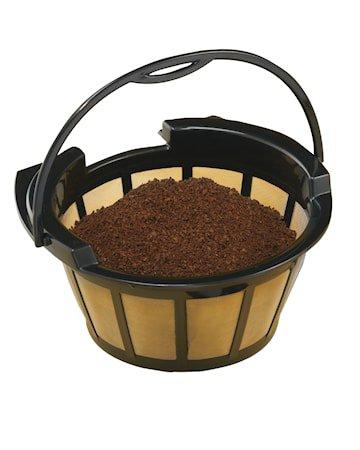 Permanent Kaffefilter 10–12 Kopper Gull