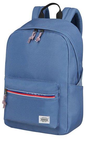 American Tourister Upbeat Zip Ryggsekk 19.5L, Denim Blue