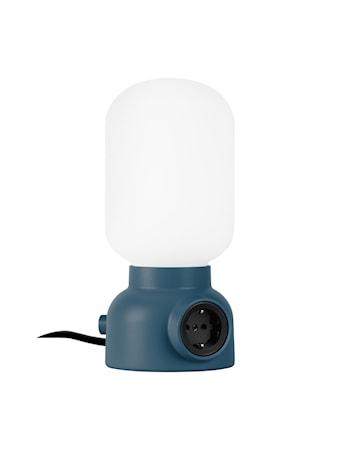 Plug Bordslampa Puderblå