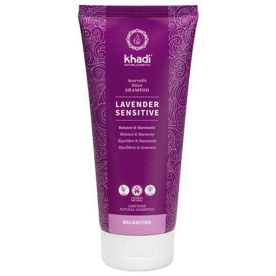 Khadi Lavender Sensitive Ayurvedic Elixir Shampoo, 200 ml