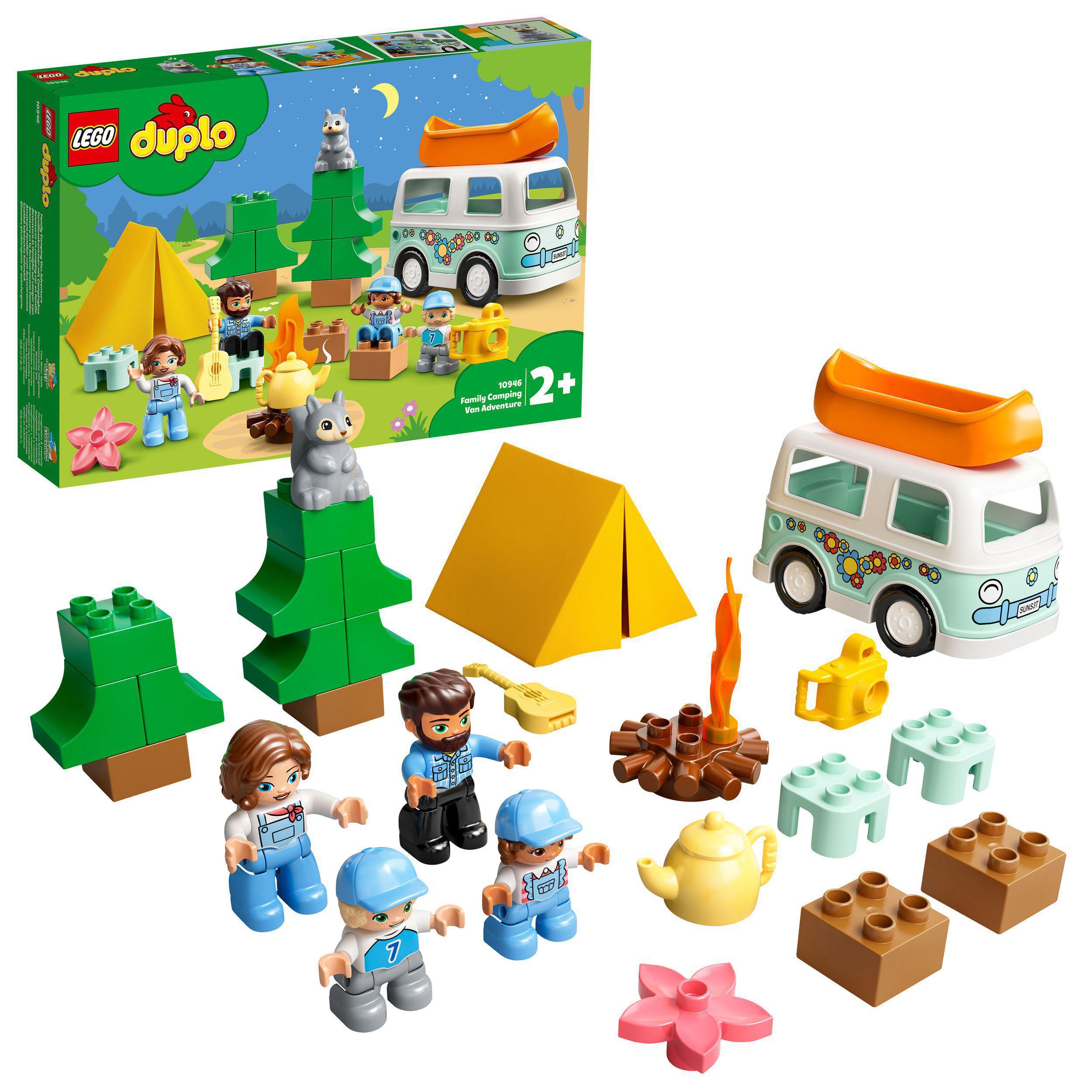 LEGO DUPLO - Family Camping Van Adventure (10946)