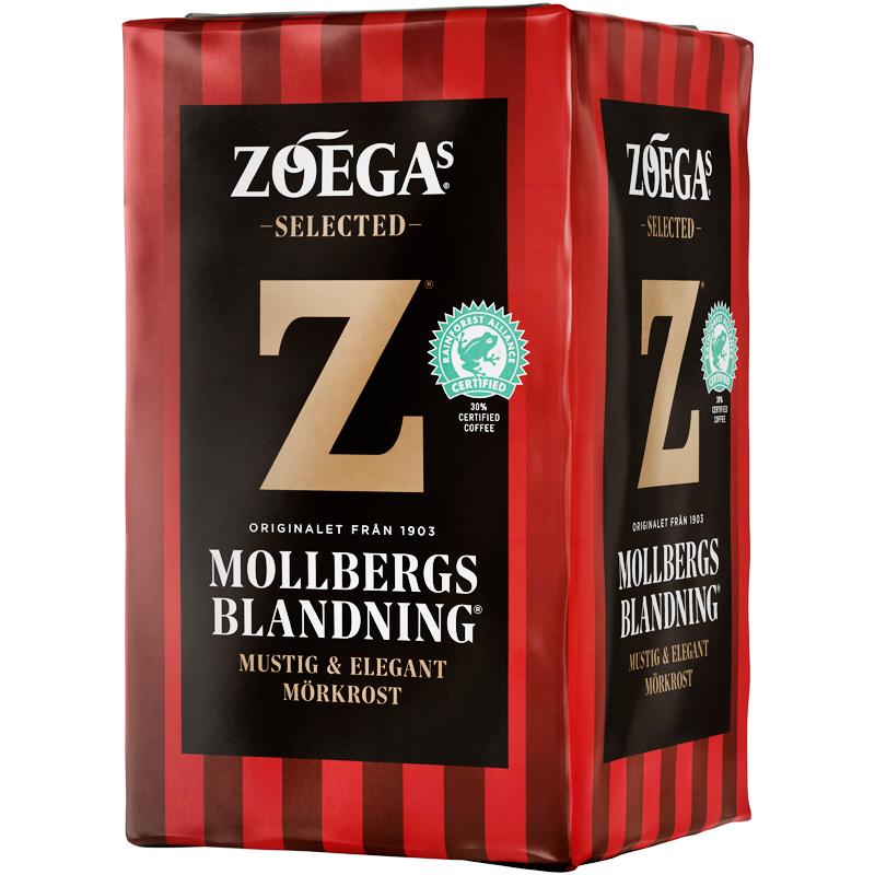 Bryggkaffe Mollbergs Blandning - 22% rabatt