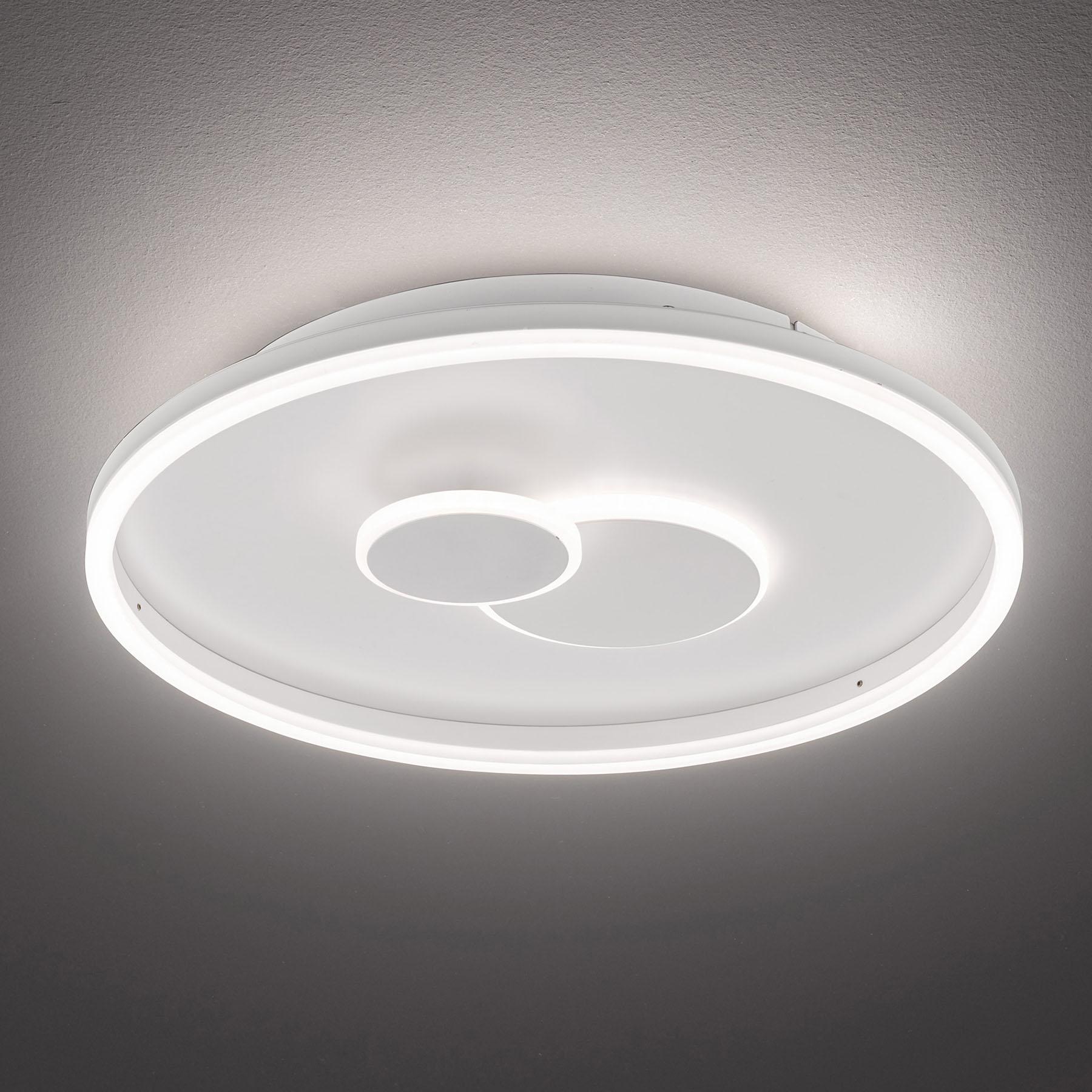 LED-kattovalaisin Nadra, 3-port. himmennys, pyöreä