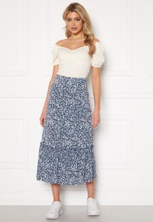 ONLY Pella Skirt Jrs Vintage Indigo/Flora XS