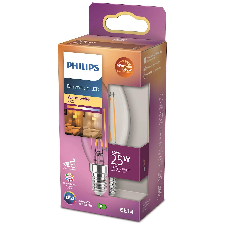 Philips LED Classic 25w kron e14