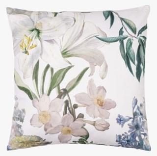 White Lily koristetyyny moniväri/valkoinen