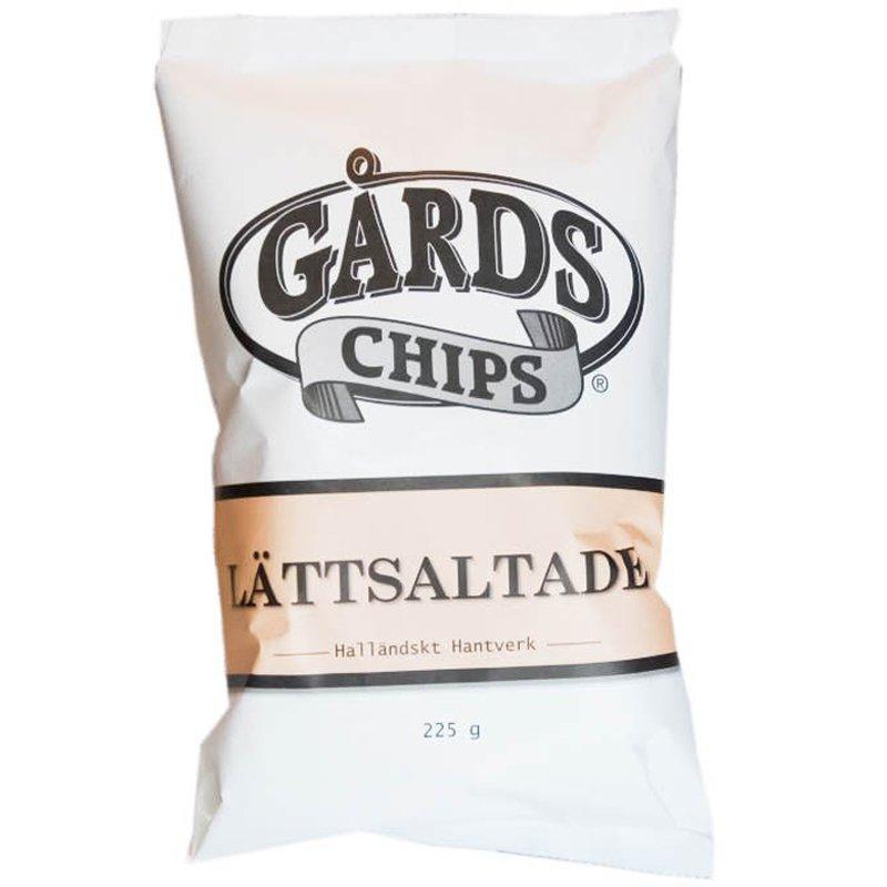 Chips Lättsaltade 225g - 25% rabatt