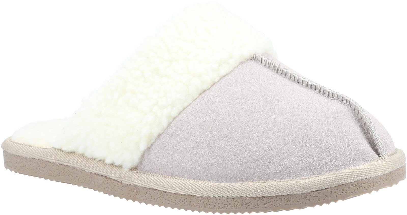 Hush Puppies Women's Arianna Mule Slippers Various Colours 31183 - Beige 3
